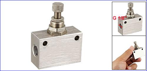 Вентиль тонкой регулировки для системы подачи CO2.