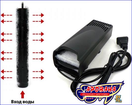 Миниатюрный, внутренний фильтр Resun CX-200.