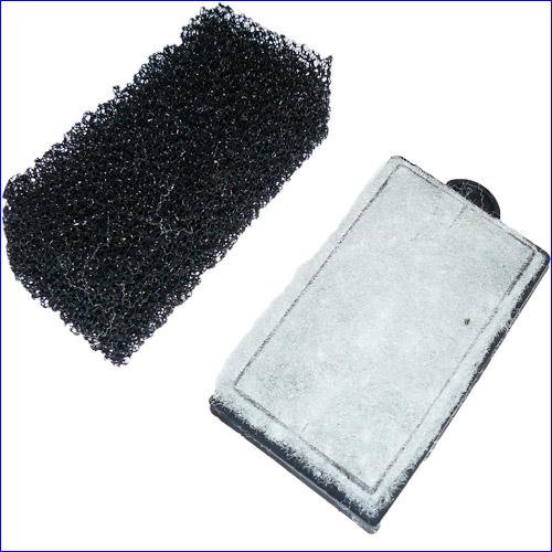 Фильтрующие элементы навесного фильтра SunSun HBL-501 II.