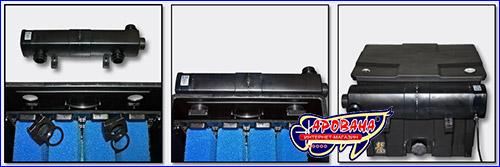 Установка стерилизатора на фильтр SunSun CBF-350B