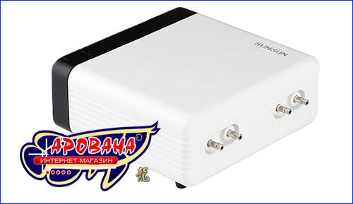 SunSun CT-404, четырехканальный компрессор для аквариума