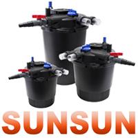 SunSun CPF - напорные прудовые фильтра
