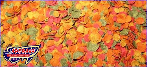 Корм в виде чипсов для всех аквариумных рыбок, TetraMin Crisps (чипсы) 500 ml.