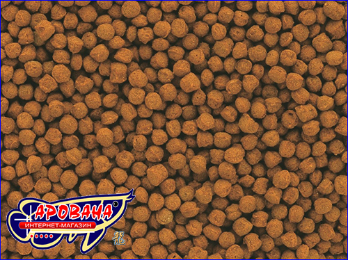 Высококачественный корм в удобной форме мини-гранул.