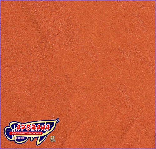 Красный наполнитель песок для террариума.