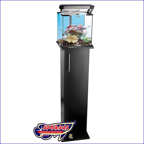 Чёрная тумба для аквариума Aquael Nanoreef.