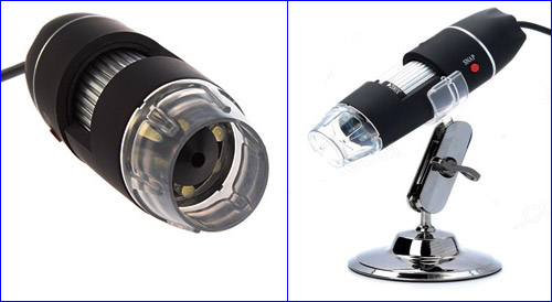 Цифровой микроскоп USB с подсветкой.