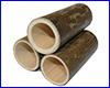 Декорация AQUAXER, бамбук LS 10 см, 3 шт.