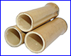 Декорация AQUAXER, бамбук MG 10 см, 3 шт.