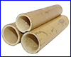 Декорация AQUAXER, бамбук MS 15 см, 3 шт.