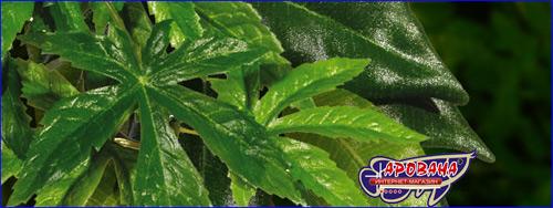 Растения Exo-Terra Abuliton Small Растения подвесные из ткани с трудом можно отличить от живых.