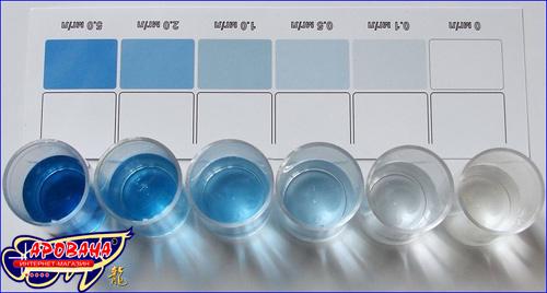 Ptero Тест PO4, - тест на фосфаты.