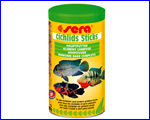 Корм Sera Cichlids Sticks  500 ml.