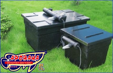 SunSun CBF 350-UV, - фильтрационная система в пруд.