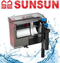 Новинка! Навесные фильтры SunSun.
