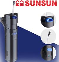 Новинка! Внутренний фильтр SunSun со стерилизатором.