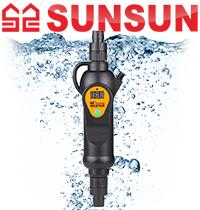 Новинка! Нагреватели с терморегулятором SunSun.