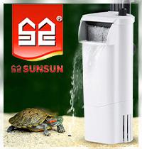 Новинка! Внутренний фильтр SunSun для акватеррариума.