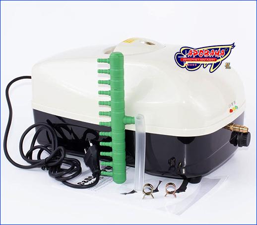 Компрессор на аккумуляторе, SunSun YT-878, одноканальный.