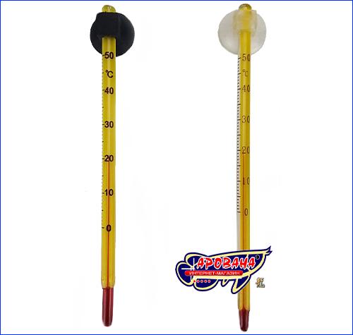 Термометр RST-04/HJS-305C/KX-002, тонкий с присоской.