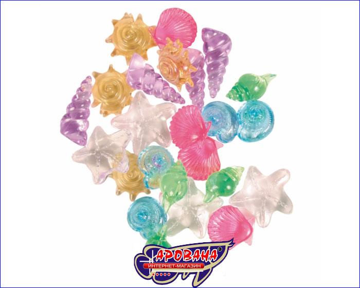 Trixie 8948 Разноцветные прозрачные ракушки для аквариума 24шт