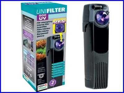 Фильтр внутренний Aquael UNIFILTER 500 UV